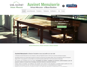 Auvinet Menuiserie Basse-Goulaine, Menuiserie générale, Menuiserie extérieure, Menuiserie intérieure